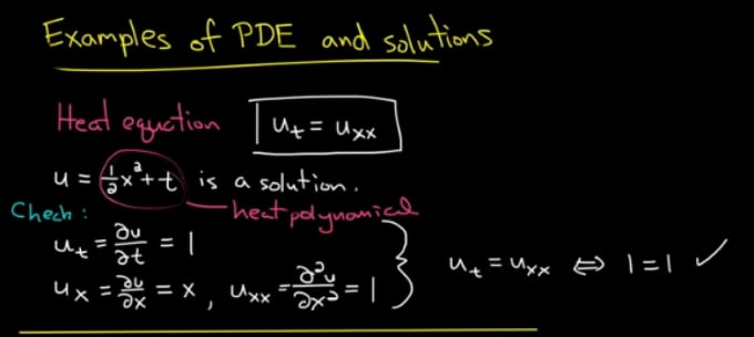solve ordinary differential and partial differential equations