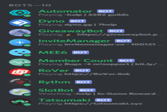 hawkins1015 : I will create you a professional discord server for free for  $5 on www fiverr com