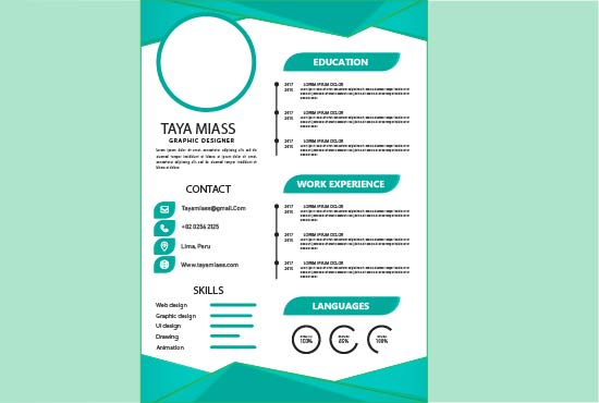 Create A Professional Resume Cvs Cover Letter