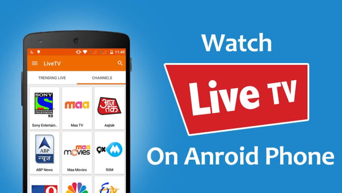 create premium live TV apk with admin panel