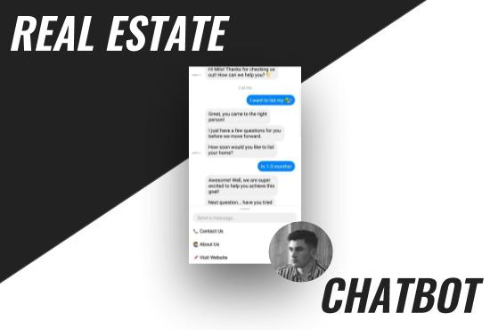create a facebook messenger chatbot for your real estate business