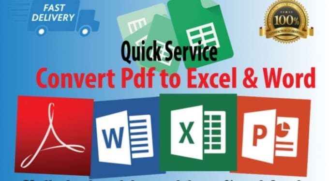 can convert pdf to excel