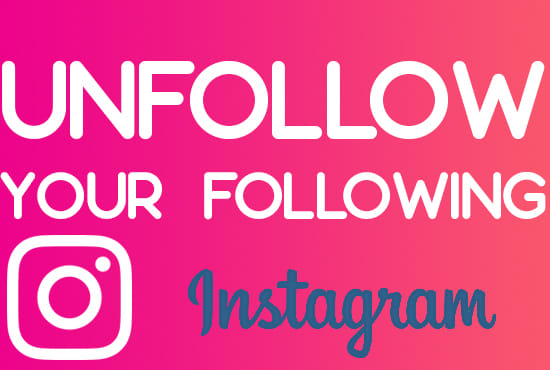 unfollow your following list on instagram