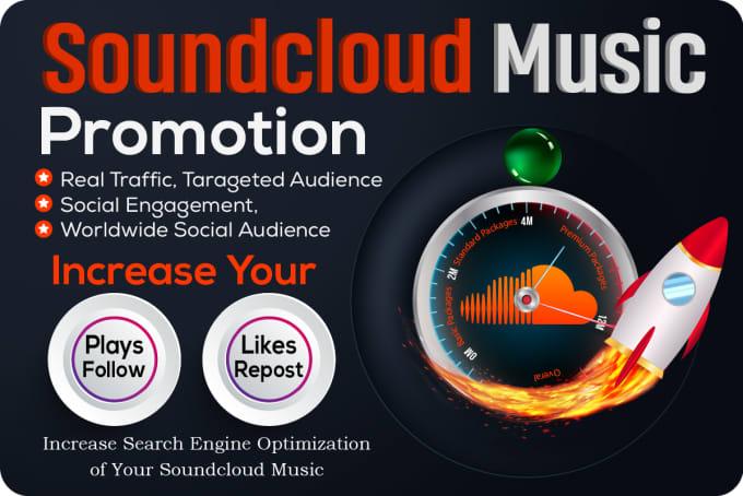 Do organic soundcloud music promotion by Kanchan_sha