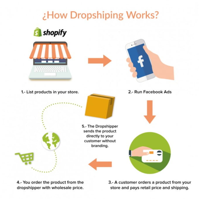 build a perfect shopify dropshipping website