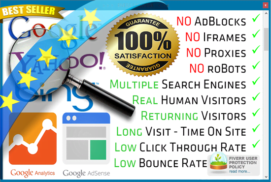 Unlimited Website Visitors For 60 Days Only $15