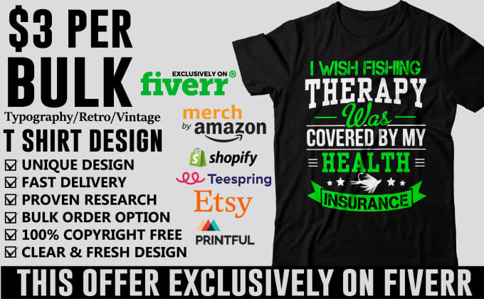 7410578a Create trendy bulk niche t shirt designs for any marketplace by ...