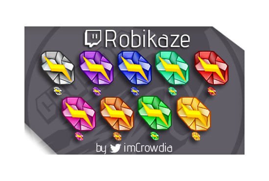 create sub or bit badges for twitch