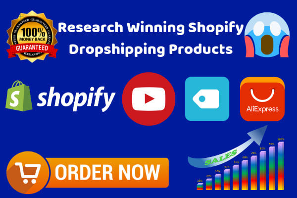 research winning shopify dropshipping products