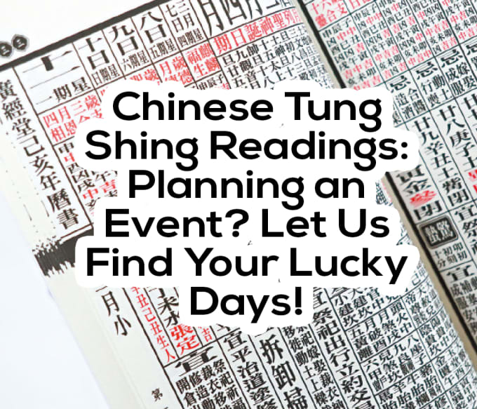 momstungshing : I will do a tung shing reading to help find your good luck  days for 2019 for $5 on www fiverr com