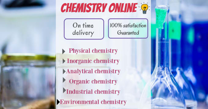 be your efficient chemistry instructor