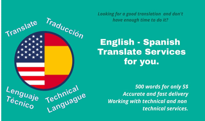 make fast and accurate spanish and english translate