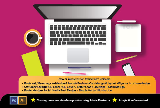 How to create a business envelope in illustrator