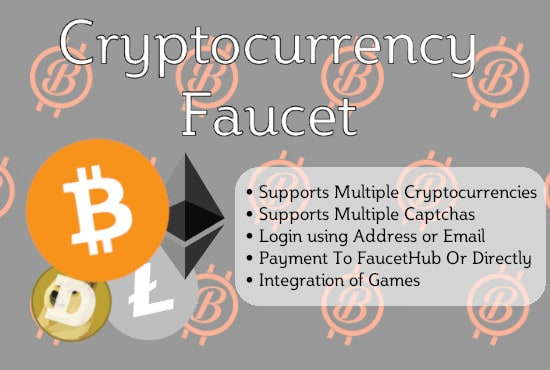 develope a custom cryptocurrency faucet