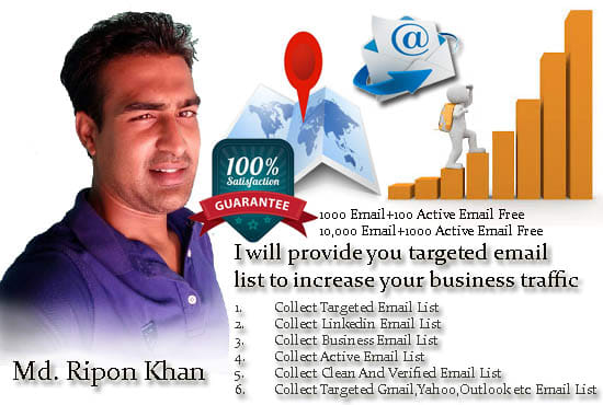 highly targeted active email list and email addresses