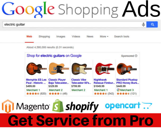 we can fix or setup google shopping and product listing for ecommerce store