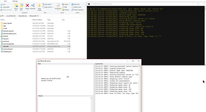 remotely port forward or make your game server