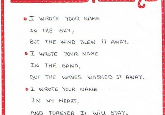 Create A 10 Line Rhyming Poem