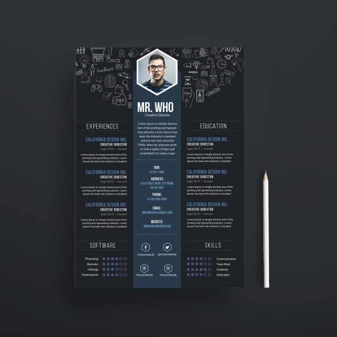 I Will Design An Epic Resume Cv Cover Letter Portfolio To Your Interview