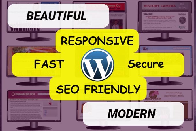 create wordpress website using elementor pro, divi builder or beaver builder
