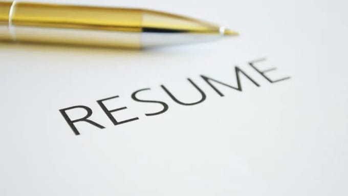 Provide professional resume writing.