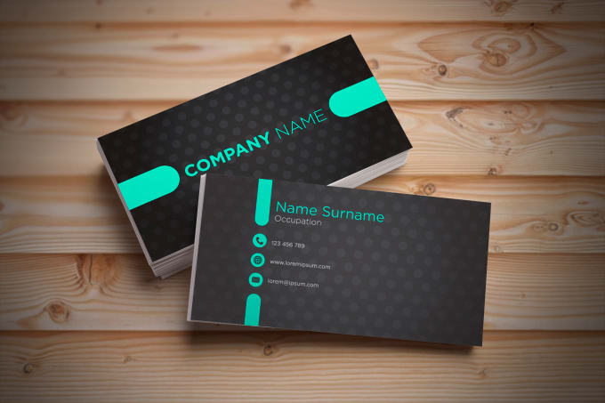 Design a professional double sided business card by manojkrp design a professional double sided business card colourmoves