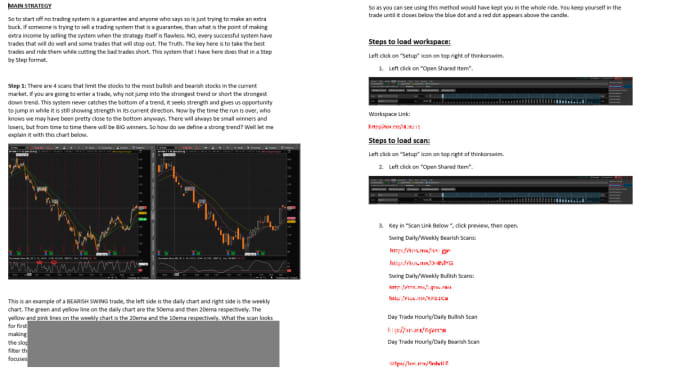 step by step trading strategy for stocks on thinkorswim with thinkscript  codes