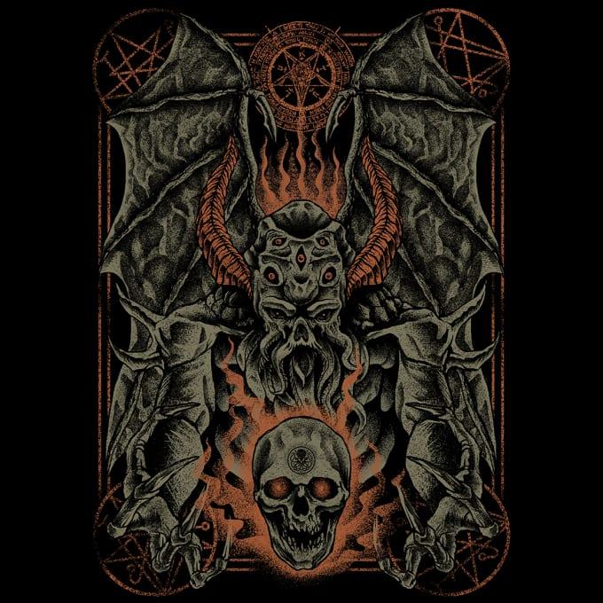 design art for band t shirt