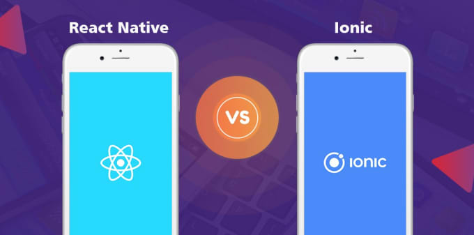 create mobile app on react native or ionic js