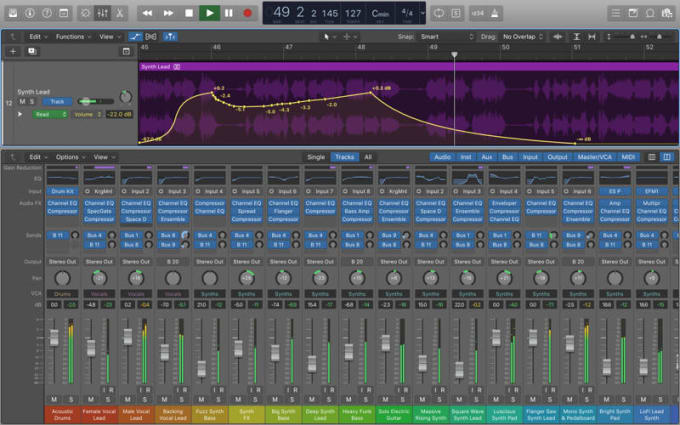 professionally mix your audio stems into a final mix, any genre
