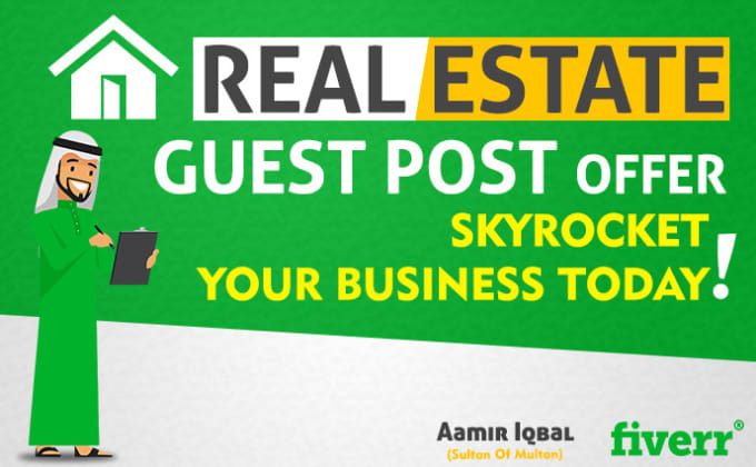 guest post authority real estate blog dofollow SEO backlink
