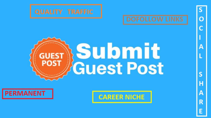 add guest post or article in career niche websites