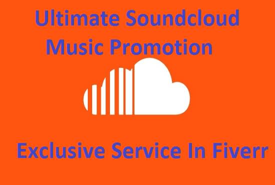 manually promote your soundcloud music