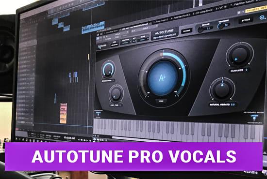 autotune your voice with autotune pro