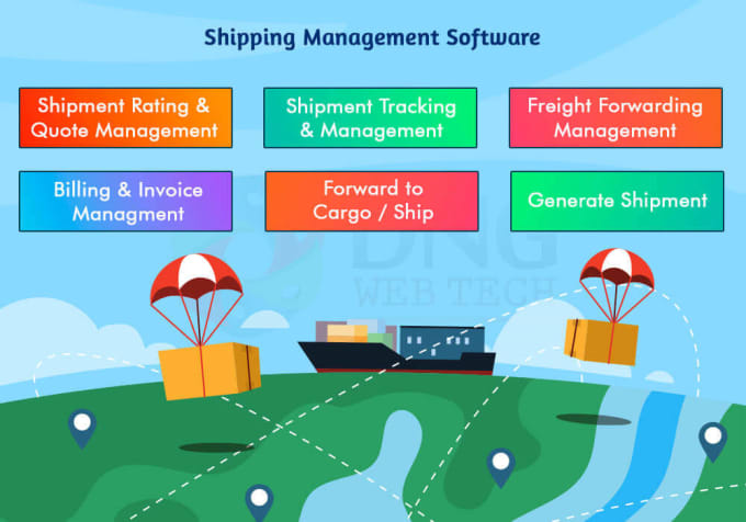 nazmonnaherbd : I will provide logistics freight forwarding erp shipping  management for $525 on www fiverr com