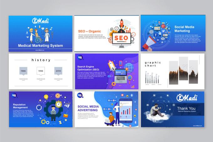 design powerpoint, PDF presentation, and google slides