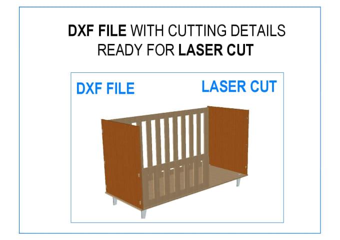 gufranafirdosi : I will make dxf file for pattern cut design to cut in  laser cnc for $10 on www fiverr com