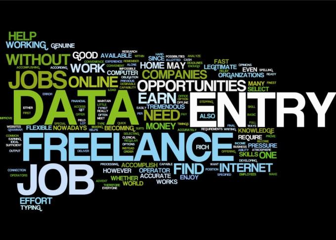 do online and offline data entry jobs