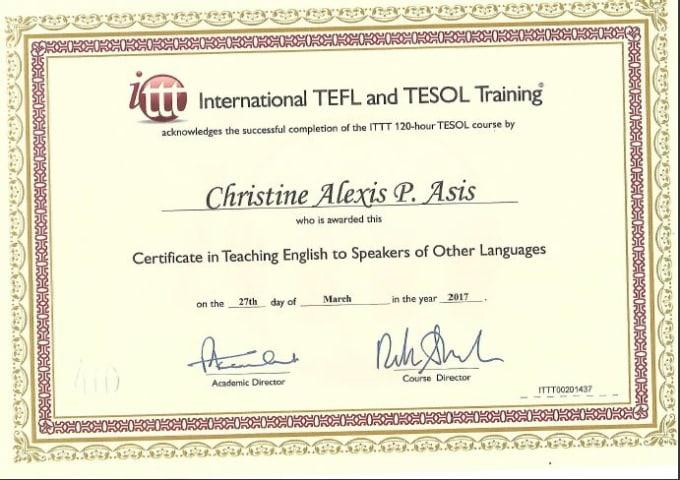 the esl teacher for you