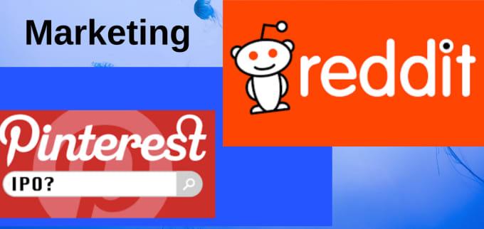 do reddit and pinterest marketing