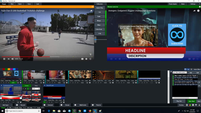youtube live streaming software for pc