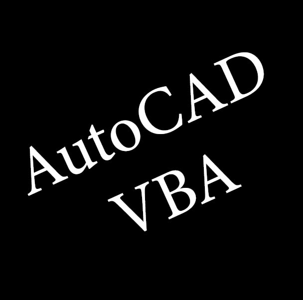 create vba code for autocad to automate your drawings