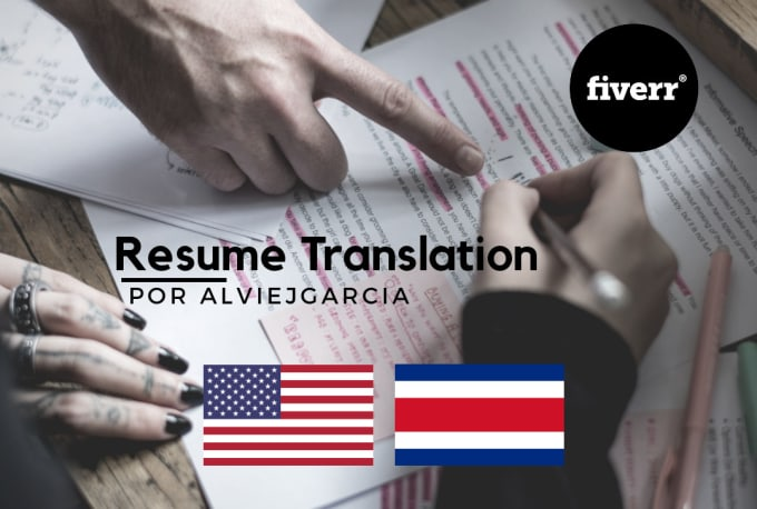 I Will Translate Your Resume Into Spanish