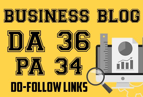do guest post in da 35 business blogs