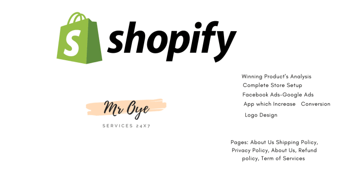 we will do shopify dropshipping