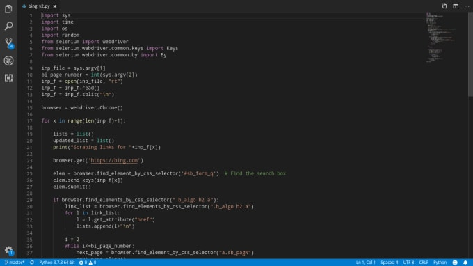 Send Keys Selenium Python