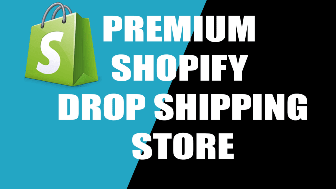 design shopify dropshipping store, shopify website