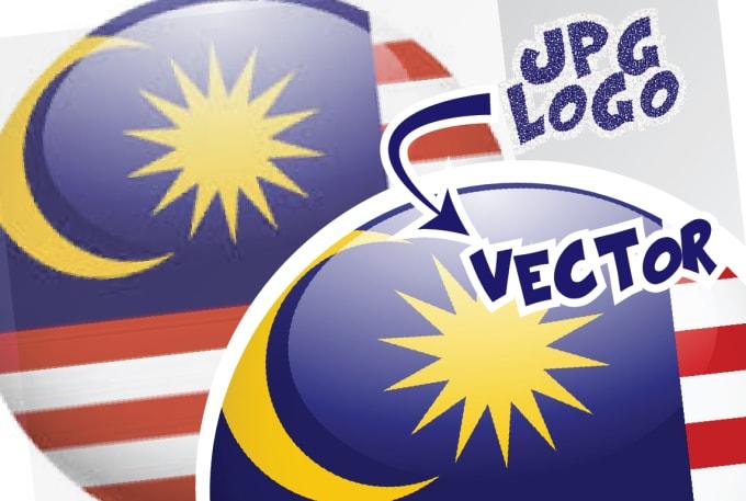 vectorise your jpeg logo