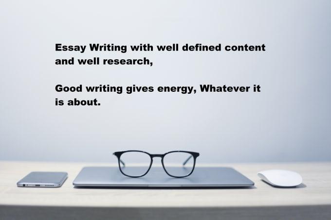 Any essay