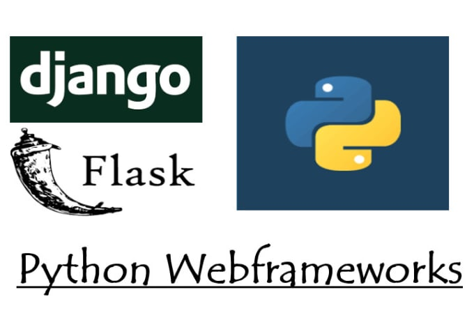 do web programming in python django or flask